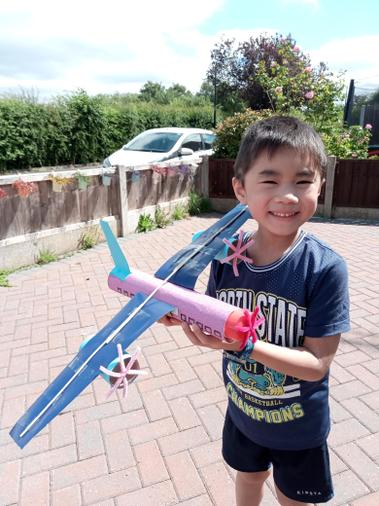 Trinton's flying machine