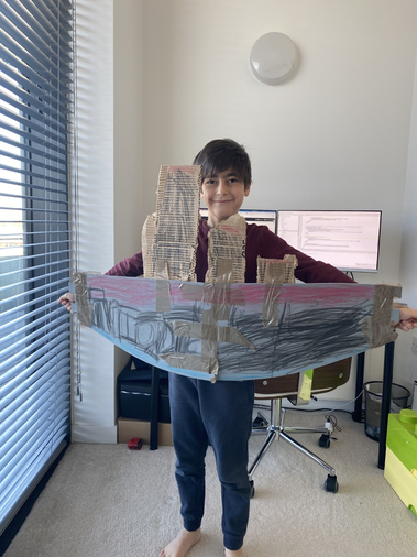 Younes made the Titanic - doesn't it look fabulous?