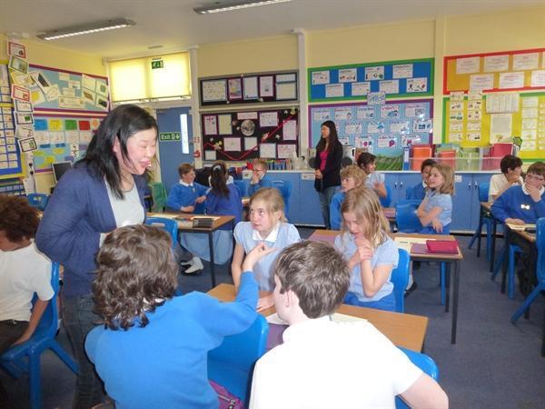 Learning Japanese during International Week