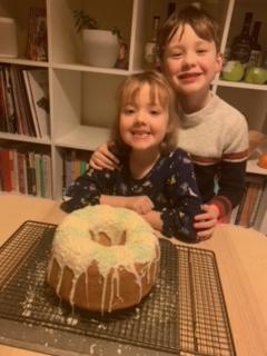 Noah's cake looks delicious!