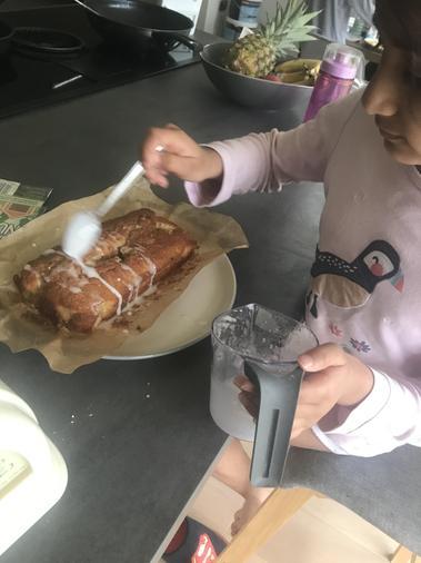 Alisha baking