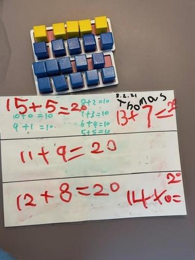 Thomas' number bonds