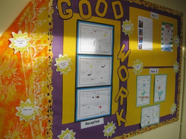 Good work display