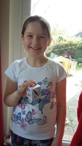 Annabel's Easter egg box