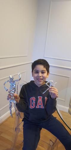 Ishaq's foil figure