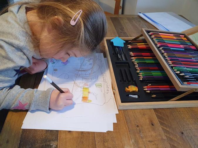 Emily's blueprint for her dream house