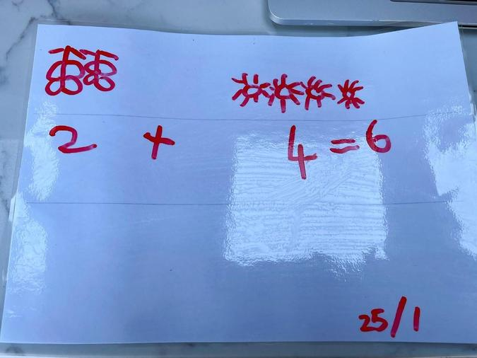 Maths addition
