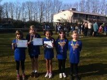 3rd Place for Well Green X Country Girls