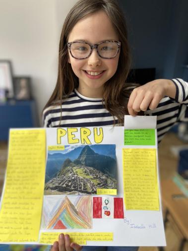 PERU by Izzy