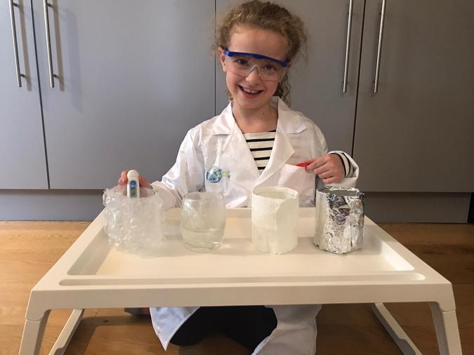 Laila the Scientist!