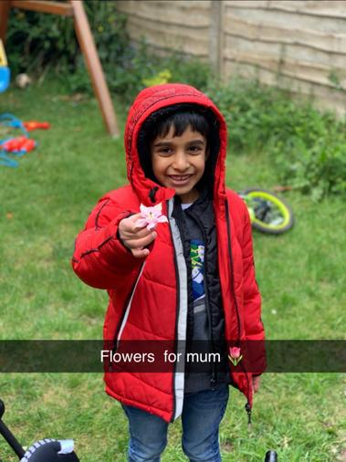 Finding a flower for Mum
