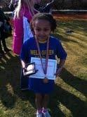 Simisola Wins 3rd place at Sale Harriers