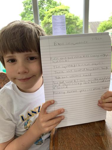 Good sequencing George