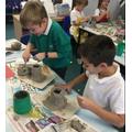 Yr 3 - Making Volcanoes (Angry Earth)