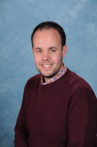 Mr Christopher Evans, Foundation Stage Teacher