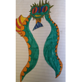 Imaginative monster story