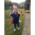 Clever egg hunting - what a generous Easter bunny.