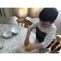 Kneading and baking - can you guess what happens?
