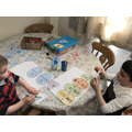 Reading, rhyming and maths activities.