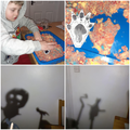 The Gruffalo - Super shadow puppets and fabulous footprints