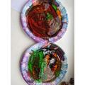 Colour Mixing Paint Plates