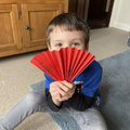 A Chinese New Year fan