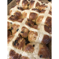Wow! Delicious looking Hot Cross Buns for Easter.