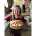 Creative cake baking and delicious decorating.