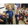 Our winners of the courtesy cups this week.