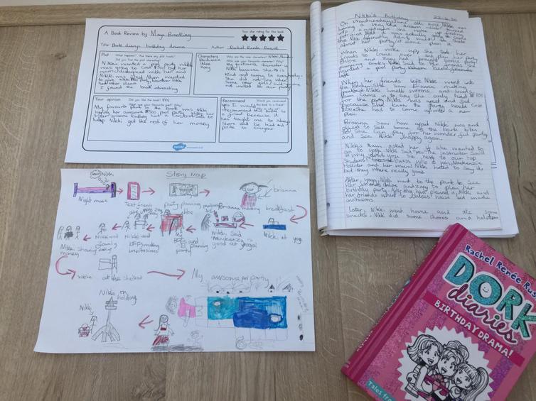 Maya's book review on Dork Diaries