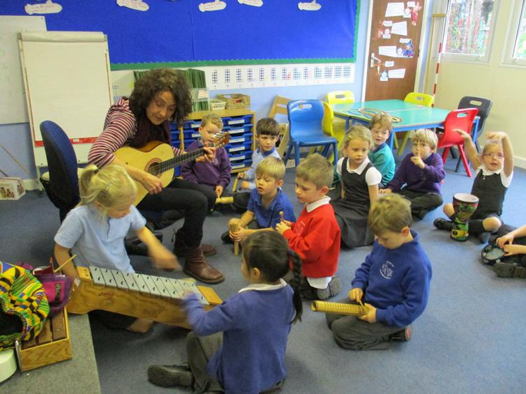 Composing - sounds for a Rocket