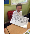 Look at our great work on letter formation.