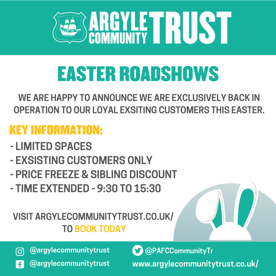 Easter Holiday Sports days