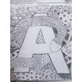 Art work by Austin
