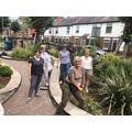 Rosie's garden tidy up team