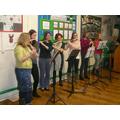 Our fantastic Parent/Staff Band