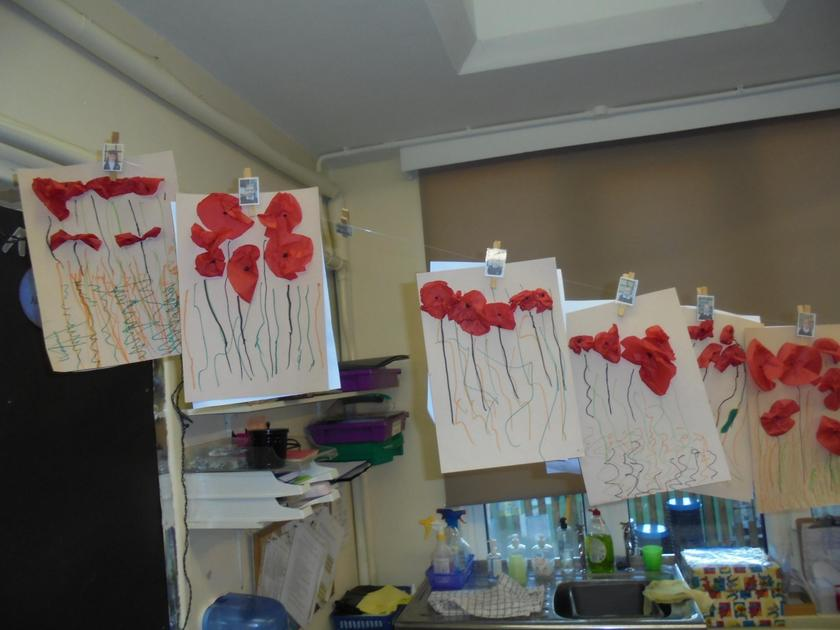 We created our own Poppy Fields