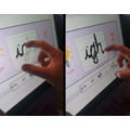 Practicing letter formation with letter-join