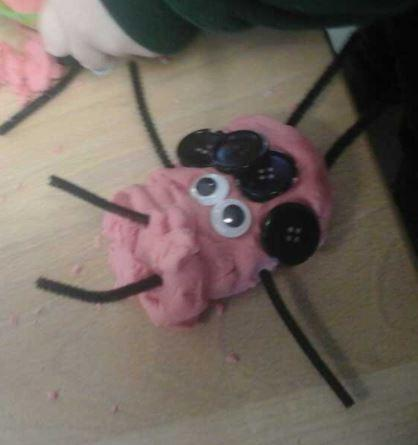 Playdough ladybird