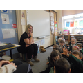 Evs's mum came to tell us all about being a Carer.