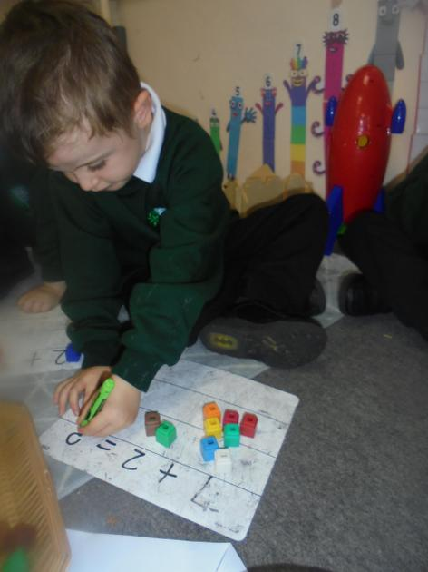 Focussing on our number formation.