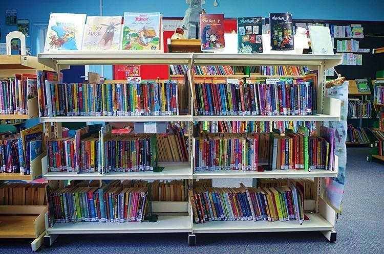 Some of the Accelerated Reading Scheme books.