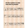 Olivia ordering numbers