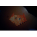 Origami cat by Kaiden