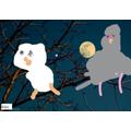 Mini Mash owl painting Evelyn