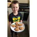 Matthew baked biscuits