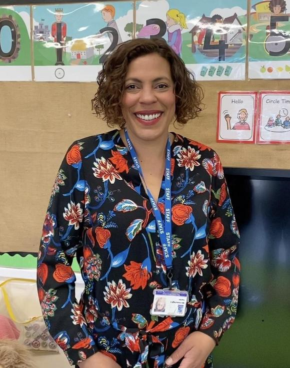 Nursery Teacher Mrs Hughes