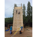 Mrs Hambleton-Owen's group climbing to new heights