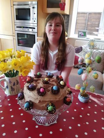 Charlotte's Easter baking