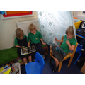 We love the reading area!